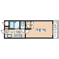 兵庫県神戸市西区玉津町新方の賃貸マンションの間取り