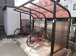 広島県福山市南本庄1丁目の賃貸アパートの外観