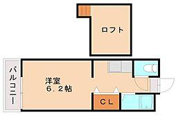 ピナクル塩原[2階]の間取り