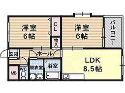 河内松原駅 5.9万円