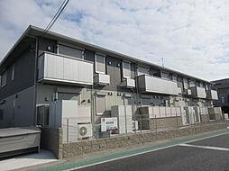 兵庫県三木市志染町広野の賃貸アパートの外観