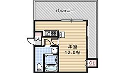 ルクレール鶴ヶ丘[10階]の間取り
