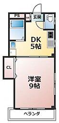 エスタシオン・カーサ[2階]の間取り