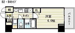 アドバンス大阪城レガーレ[8階]の間取り
