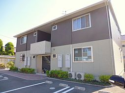 岡山県倉敷市児島田の口4の賃貸アパートの外観
