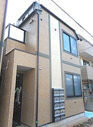 東京都新宿区喜久井町の賃貸アパートの外観