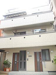 東京都新宿区西早稲田1丁目の賃貸アパートの外観
