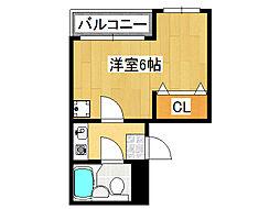 デイズ桜川II[2階]の間取り