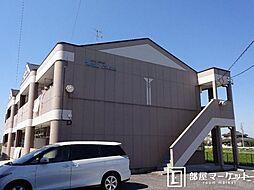 愛知県岡崎市赤渋町字寺前の賃貸アパートの外観