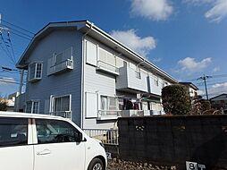 埼玉県上尾市中妻3丁目の賃貸アパートの外観