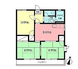 クレールIZUMI[2階]の間取り