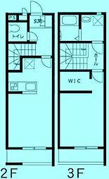 Luce[2階]の間取り