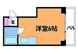 多摩川ビレッヂ[4階]の間取り