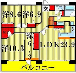 西新井駅 34.8万円