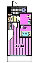 サンセール与野本町[4階]の間取り