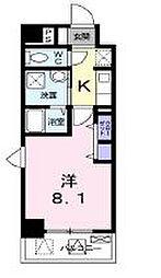 兵庫県神戸市長田区長田町2丁目の賃貸マンションの間取り