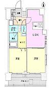 (間取図)2LDK 専有面積:46.80m2