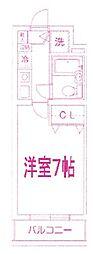 ティアレ宮崎台[4階]の間取り