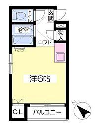 パル松崎[2階]の間取り