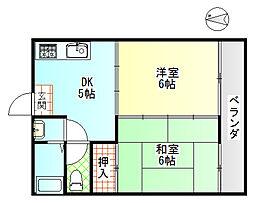 富士昭和ビル2[4階]の間取り