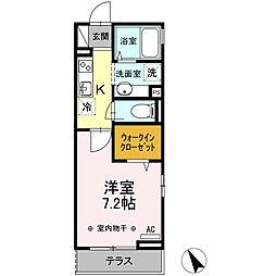 (仮)D-room東小松川2丁目 A棟[308号室]の間取り