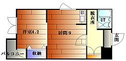 412ビル[3階]の間取り