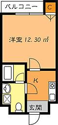 かねまつ庄内マンション[7階]の間取り
