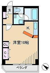 岡島ビル[2階]の間取り