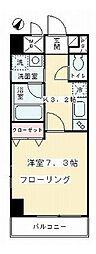 COZY COURT 三軒茶屋 TOKYO[3階]の間取り