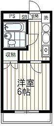 クライス伊藤[301号室]の間取り