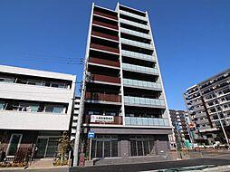 千葉県流山市市野谷の賃貸マンションの外観
