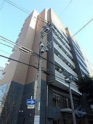 大阪府大阪市東淀川区東中島1の賃貸マンションの外観