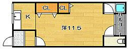 コーポ高島A棟[2階]の間取り
