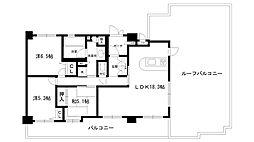 ロイヤル西宮ヒルズ[6階]の間取り