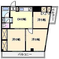 メゾン白和[4階]の間取り