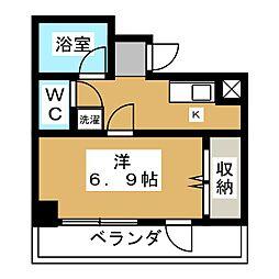 アクアフォーレ[5階]の間取り