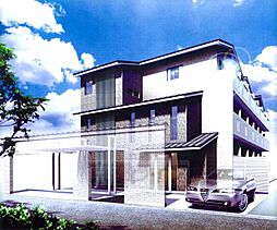 京都府京都市上京区姥ケ寺之前町の賃貸マンションの外観