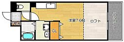 トップ・ティー稲葉[4階]の間取り