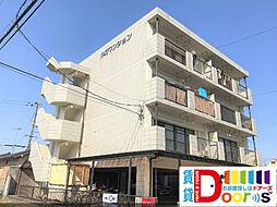 岡山県倉敷市連島3丁目の賃貸マンションの外観
