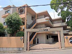 兵庫県宝塚市川面6丁目の賃貸マンションの外観