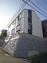 神奈川県横浜市磯子区中原4の賃貸アパートの外観