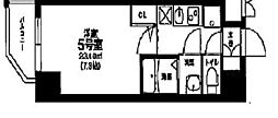 ヴァンヴェール天神橋[5階]の間取り