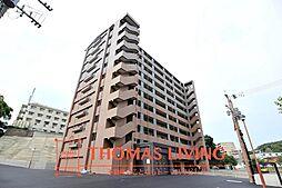 福岡県北九州市八幡西区鷹見台1丁目の賃貸マンションの外観