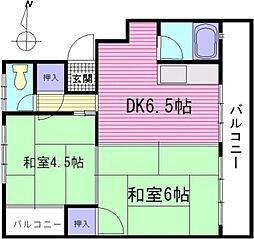 マツイビルA棟[2階]の間取り