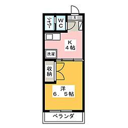 聖城ビル[4階]の間取り