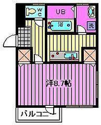 埼玉県さいたま市浦和区前地3丁目の賃貸マンションの間取り