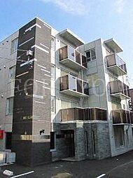 北海道札幌市豊平区平岸一条8丁目の賃貸マンションの外観
