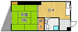 TOEI城野ビル[403号室]の間取り