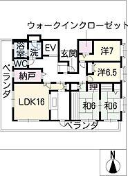 AOKIビル[4階]の間取り