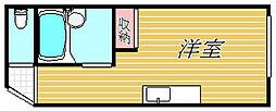 シングルハイツさくぞうマンション[2階]の間取り